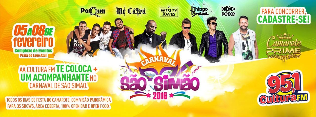 Promoção Carnaval de São Simão