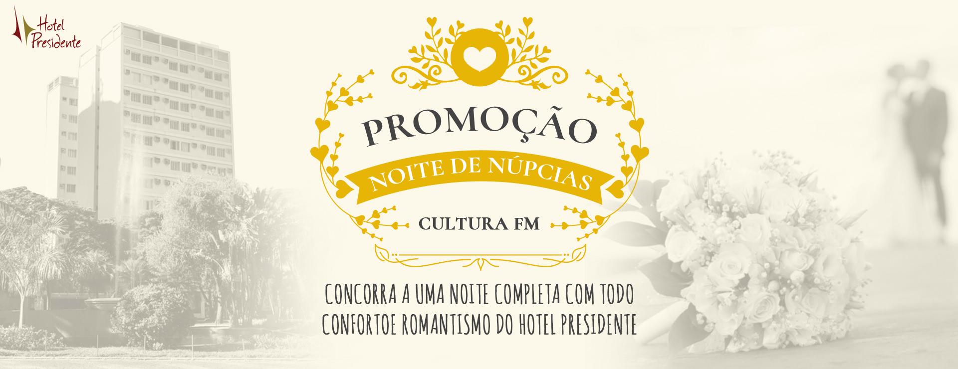 Noite de Núpcias Cultura FM.