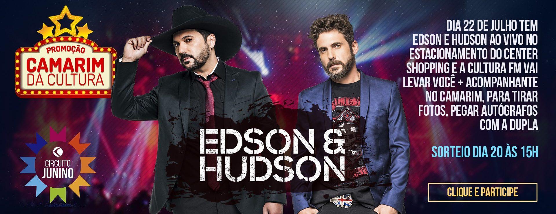 Camarim da Cultura Edson e Hudson