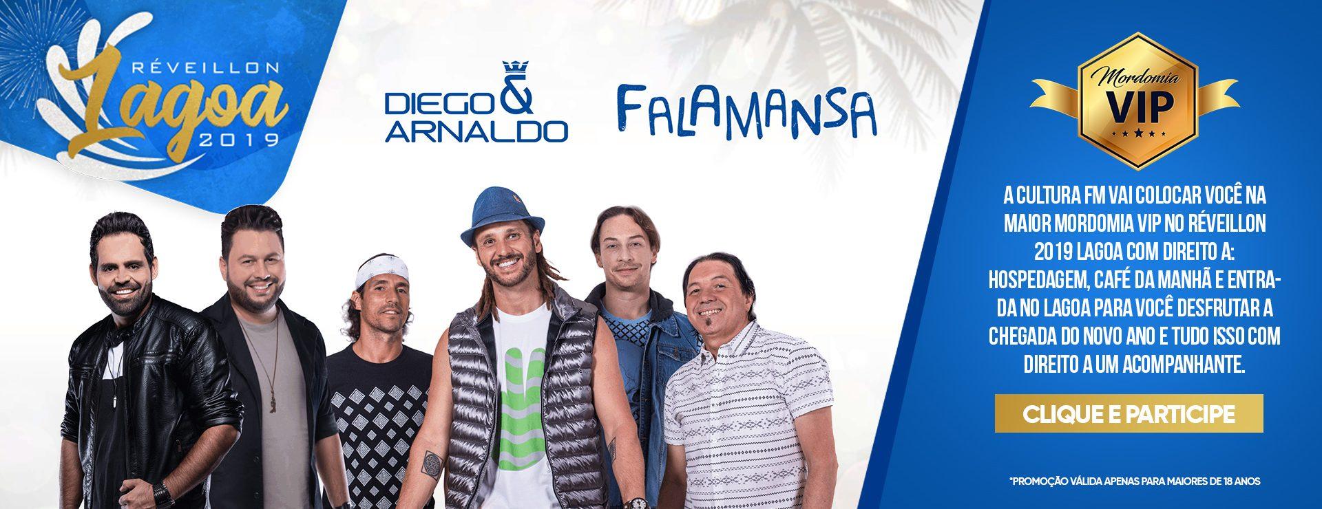 Mordomia Cultura FM no Reveillon Lagoa 2019